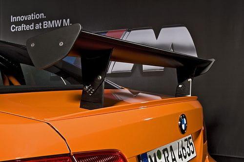 BMW M3 GTS: naranja, ligero y potente