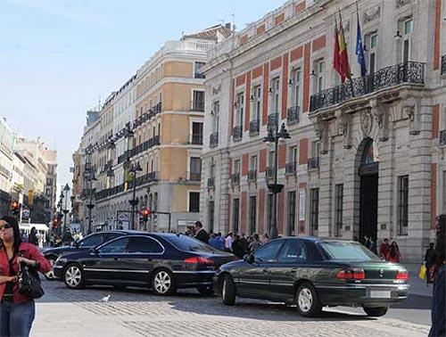 Políticos españoles y sus coches
