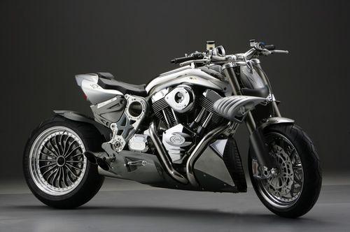 CR&S Duu, una monster bike con motor de dos litros