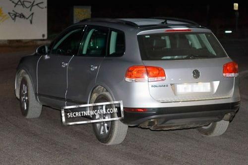 Cazado al desnudo el nuevo Volkswagen Touareg