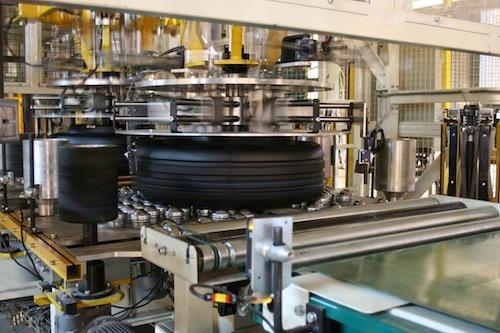 Visita a la fábrica de Michelin en Vitoria