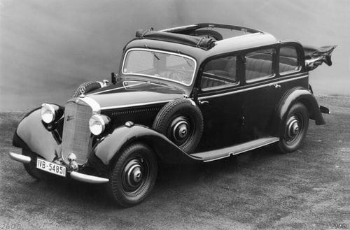 Mercedes 260 D de 1936, el primer turismo diésel de la historia