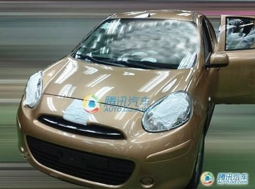 Nissan Micra 2010 filtrado