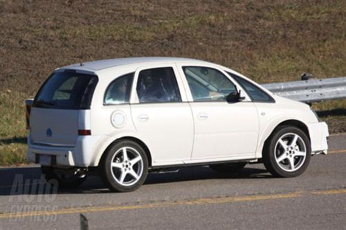 Opel Corsa SUV, mula de pruebas