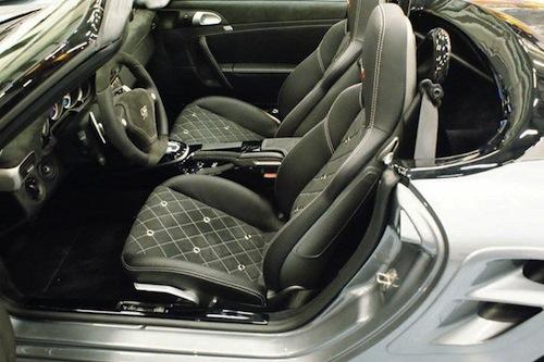 9ff honra al Porsche 356 Speedster con un 911 Turbo Cabriolet