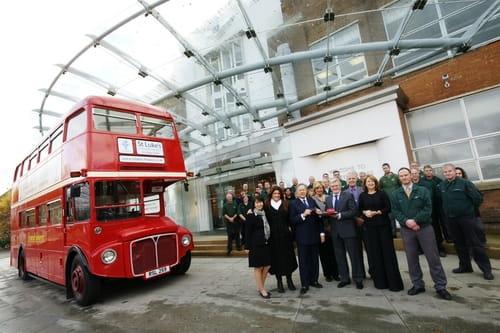 Routemaster restaurado por Bentley