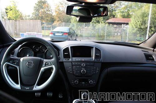 Prueba de contacto del Opel Insignia OPC