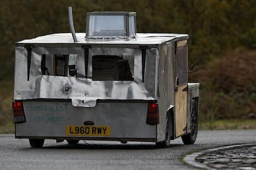 The Hammerhead Eagle iThrust de Top Gear, análisis de Autocar