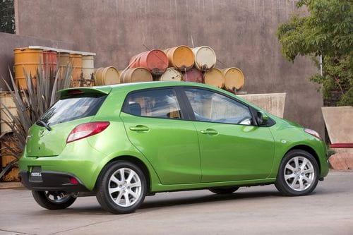 Cambios estéticos para el Mazda 2 estadounidense