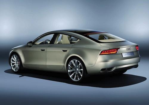 Audi A7 en 2010