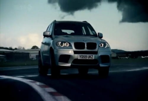 BMW X5 M, en Top Gear