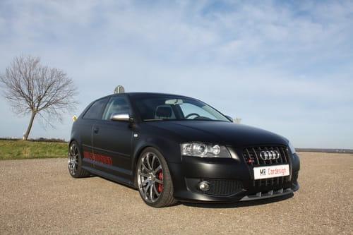 Audi S3 Black Perfomance Edition, por MR Car Design