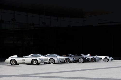 Fin de producción del Mercedes SLR