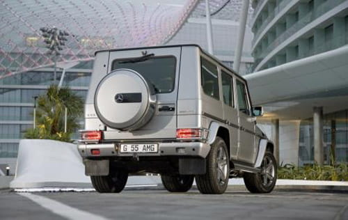 Mercedes G 55 Kompressor Edition 79