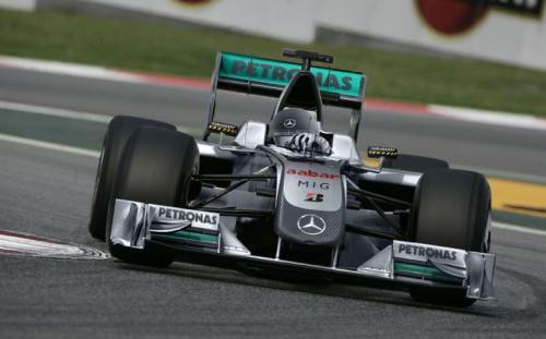 Michael Schumacher vuelve a la F1 como piloto de Mercedes Grand Prix