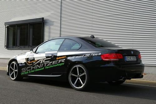 BMW 335d por AC Schnitzer. récord de velocidad en diésel
