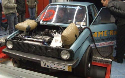 Volkswagen Polo Dragster, 1.032 CV en su primera generación