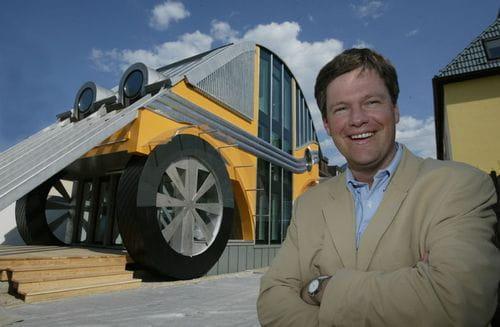 La casa inspirada en el Volkswagen Escarabajo