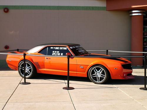 Chevrolet Camaro SS del 69 por Danz Customs