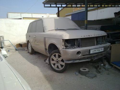 Lo que te puedes encontrar en un desguace de Qatar