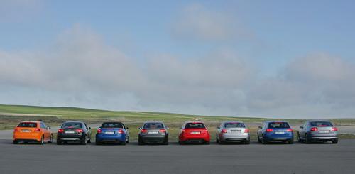 La gama S / RS de Audi en el 2007