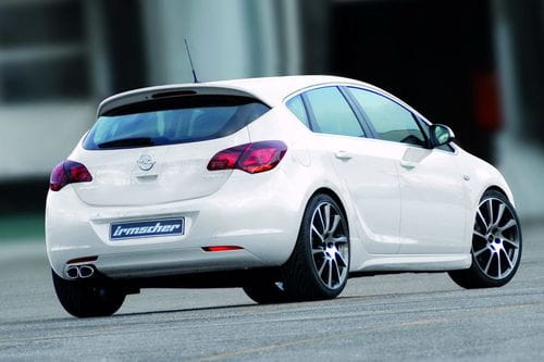 Más detalles de los kits Irmscher para el Opel Astra