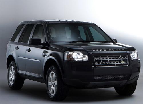 Land Rover Freelander 2 White & Black