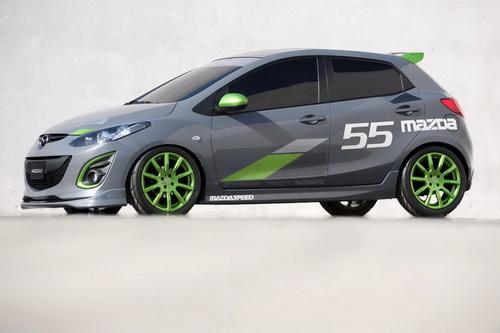 Prototipos de Mazda 2 en el L.A. Auto Show