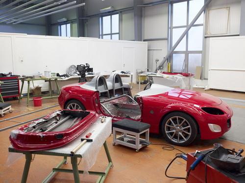 Mazda MX-5 Superlight, así se construye un prototipo