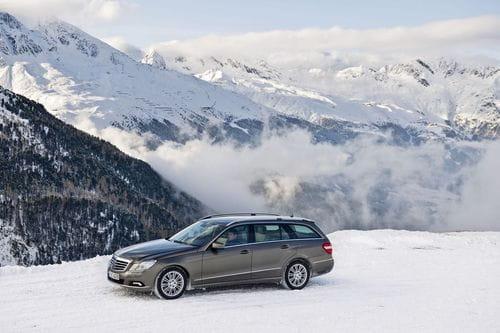 Mercedes Clase E 4MATIC, un sueño invernal