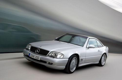 Mercedes SL 73 AMG, el canto del cisne