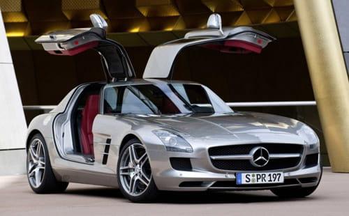 Mercedes SLS vendido en Alemania