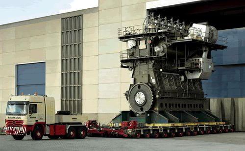 Wärtsilä-Sultzer RTA96C, el motor más grande y eficiente del mundo