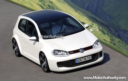 Volkswagen Golf de sexta generación, adelanto