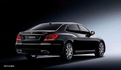 Hyundai Equus, primeras fotos oficiales filtradas