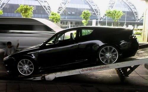 Un Opel Calibra resucitado como Aston Martin DBS