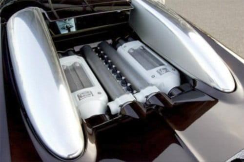 Motor W16 Bugatti Veyron