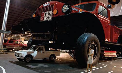 El pick-up más grande jamás construido