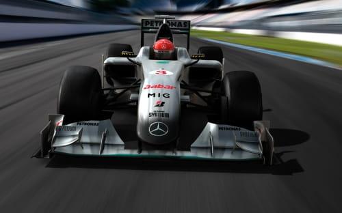 Mercedes Grand Prix MGP W01 2010
