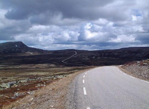 Las carreteras turisticas de Noruega