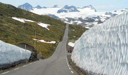 Las careteras tur´´isticas de Noruega
