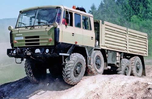 Tatra: tracción total en su máxima expresión
