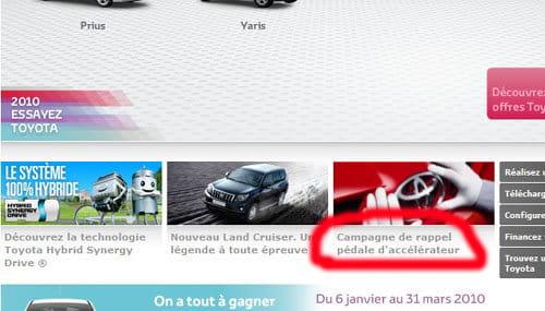 Toyota en España no tiene problemas con el acelerador