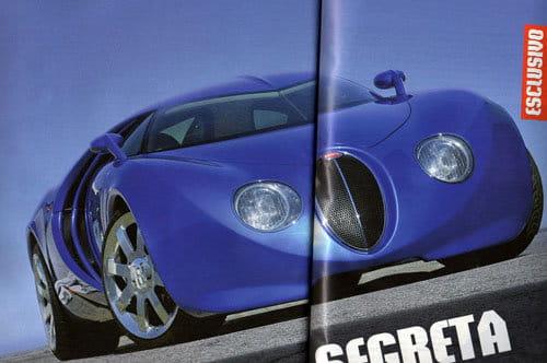 El diseño de Bugatti por Walter da Silva