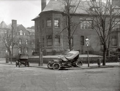 Reconstruyendo un accidente de tráfico de hace 93 años