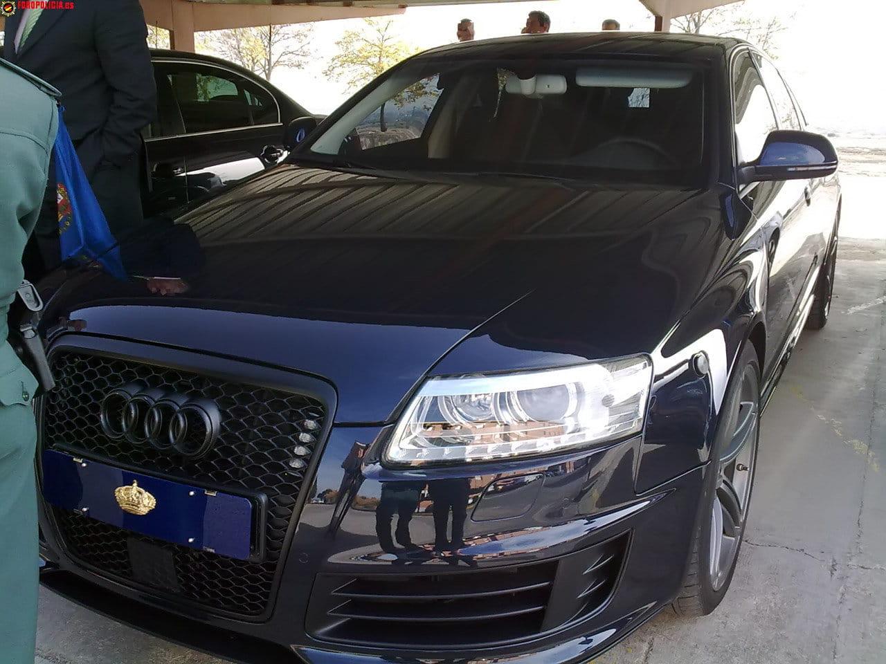 El Audi RS6 de S.M. Don Juan Carlos I de Borbón - Diariomotor