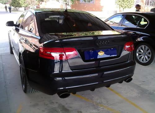 Audi RS6 S.M. Don Juan Carlos I de Borbón