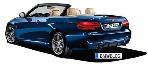 BMW 335is Coupé y Cabrio, primeras imágenes oficiales