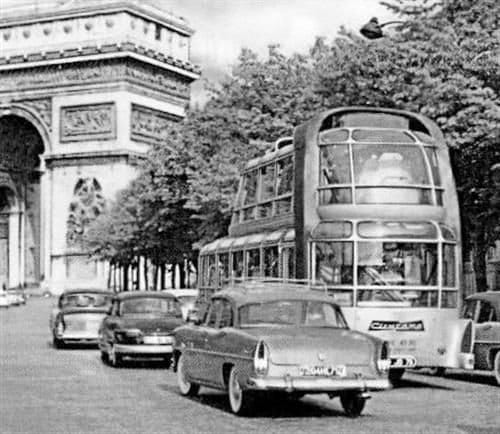 Citroën U55 Cityrama Currus, el autobús futurista de los años 50