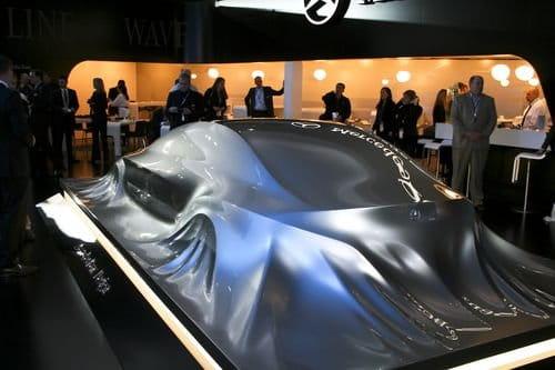 La escultura-teaser del nuevo Mercedes CLS